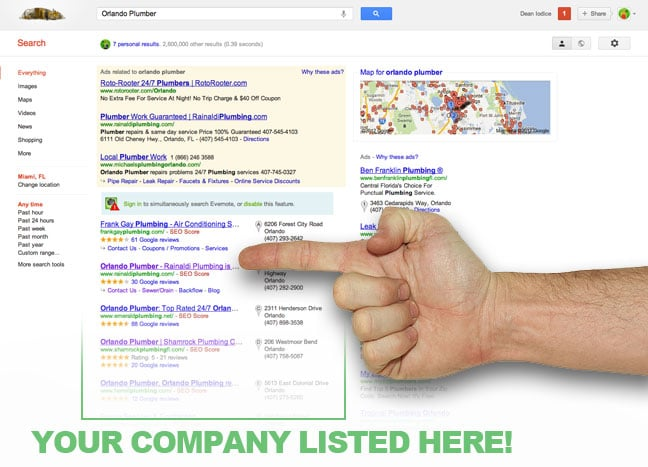 how to get your hvac business on the google map